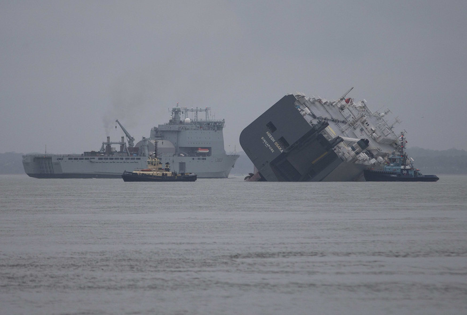 REUTERS - TRANSPORT DISASTER ENVIRONMENT