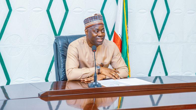 Oyo state Governor, Seyi Makinde. [Twitter/@seyiamakinde]