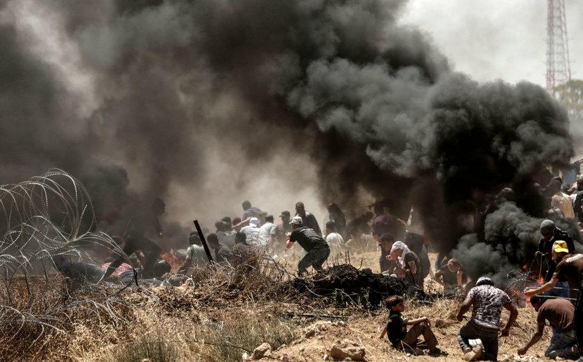 Krwawe starcia w Strefie Gazy