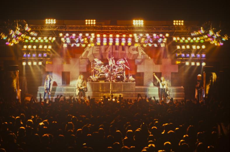 "Trasa koncertowa ""Master Of Puppets"" - Metallica; fot. Ulf Magnusson"