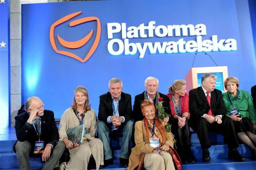 Platformę wsparli znani seniorzy. Zmiana pokoleniowa