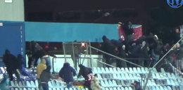 Piekło na trybunach. Zobacz burdy z meczu Slovan Bratysława - Sparta Praga! WIDEO