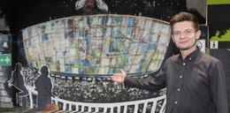 Na Stadionie Miejskim artyści malują murale