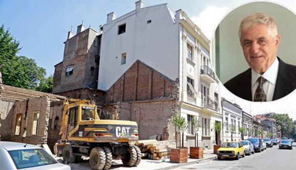 Majkl Đorđević gradi stambeno-poslovni objekat tamo gde je bila kuća porodice Baruh