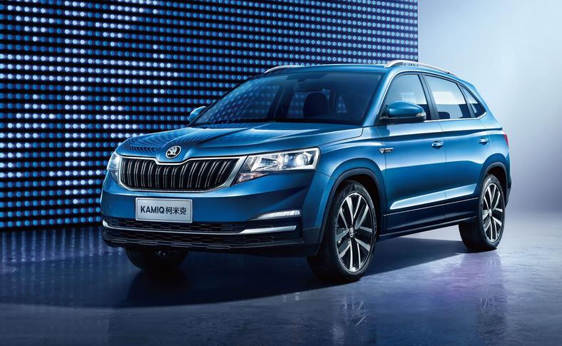 Skoda twierdzi, że przy projektowaniu Kamiq uwzględniła specyficzne oczekiwania i preferencje chińskich kierowców w zakresie stylistyki i wyposażenia pojazdu. Grill i reflektory tworzą jedną, zwartą formę