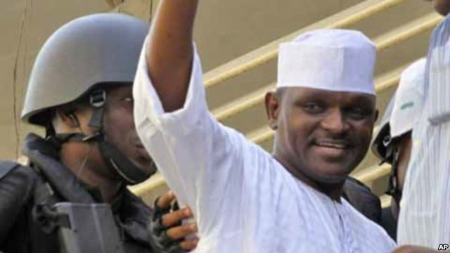 Hamza Al-Mustapha spent years in jail for murder. He's back in everyone's face (Guardian)