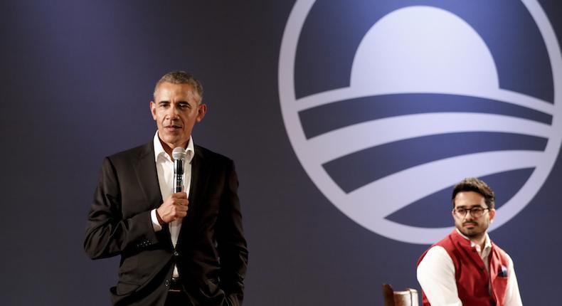 Former US President Barrack Obama