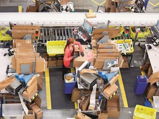 Operations At An Amazon.com Inc Fulfillment Centre As It Prepares For Black Friday