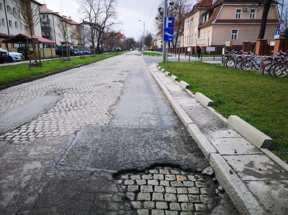 Ulica Koszarowa