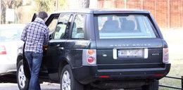 Wypasiony Range Rover. Czyj?