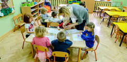 Przedszkolaki uczą się, jak zdrowo żyć