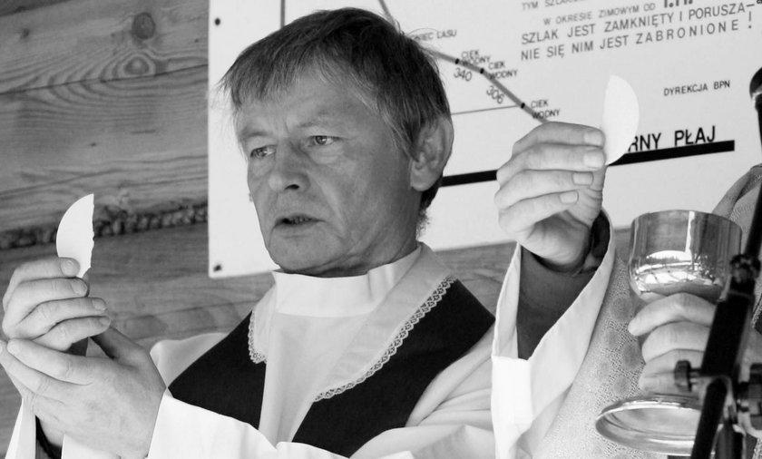 Nie żyje ks. Szczepan Gacek