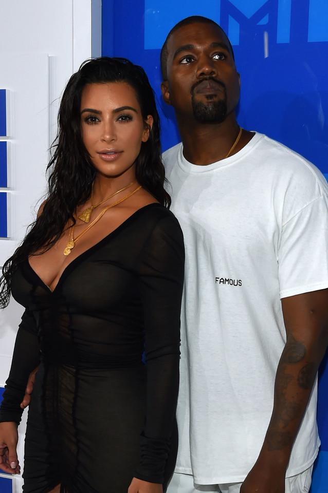 MTV Video Music Awards 2016: Kim Kardashian i Kanye West
