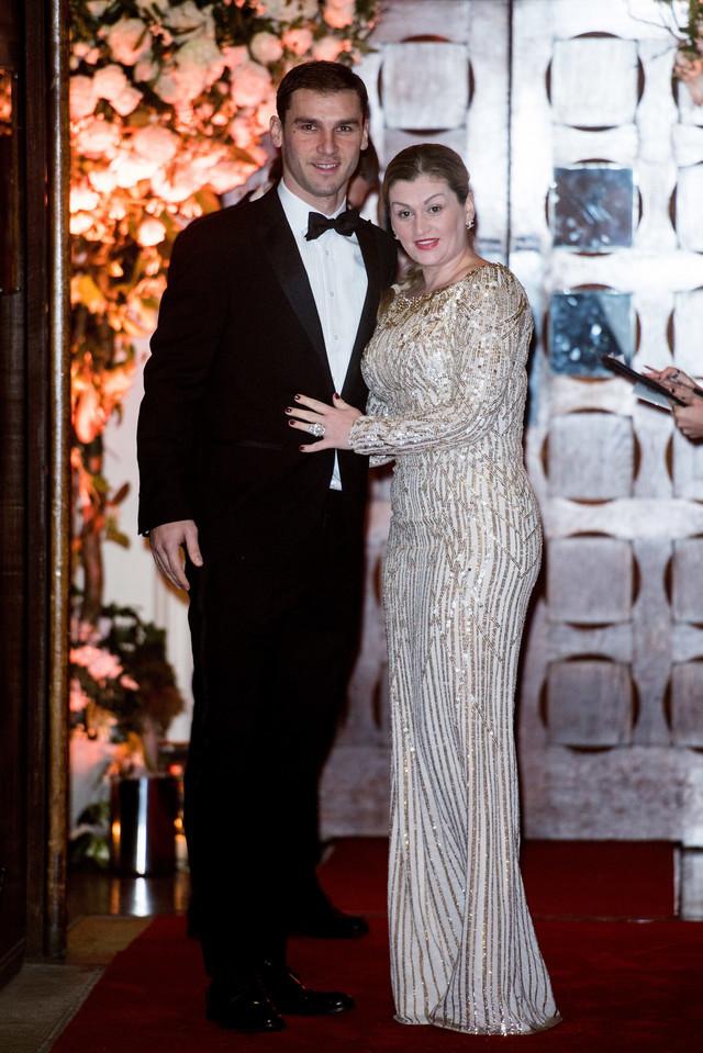Branislav Ivanović sa ženom