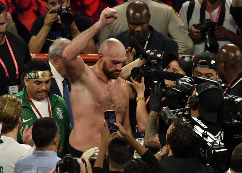 Tyson Fury is the WBC title holder in the heavyweight division