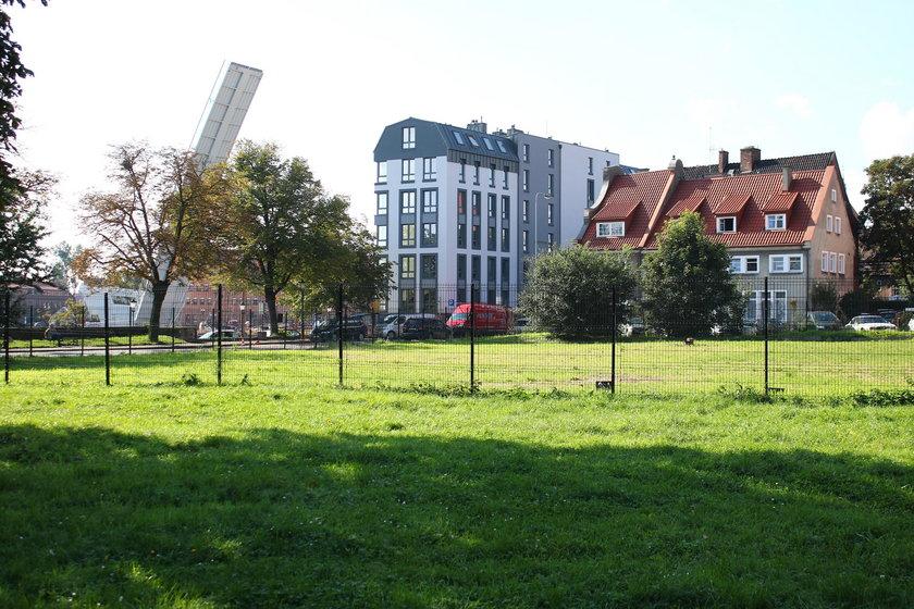 Działka przy ul. Rycerskiej w Gdańsku