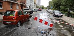 Woda zalała ulicę Górnośląską. Są utrudnienia w ruchu