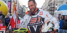 Arkadiusz Lindner w Łodzi po sukcesie na quadzie w rajdzie Dakar