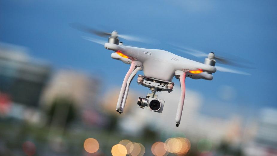 Za pomocą drona mężczyzna dokonał niezwykłego odkrycia