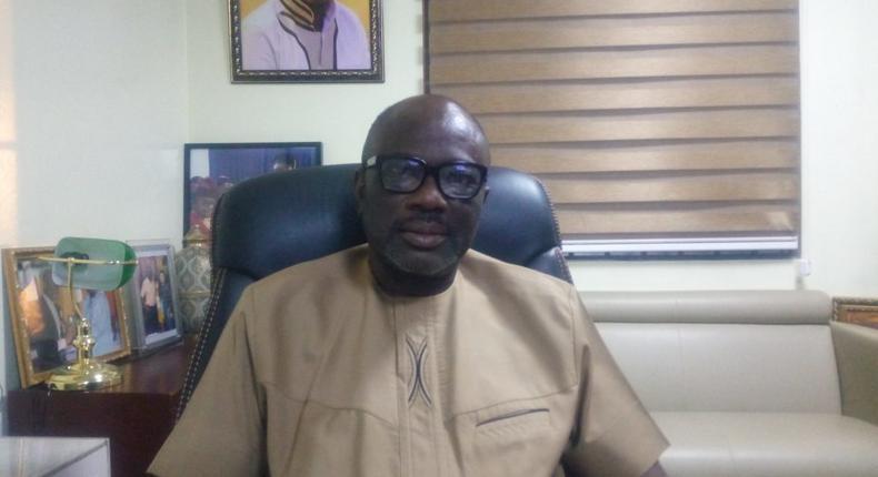 The President of GUTA Dr. Joseph Obeng
