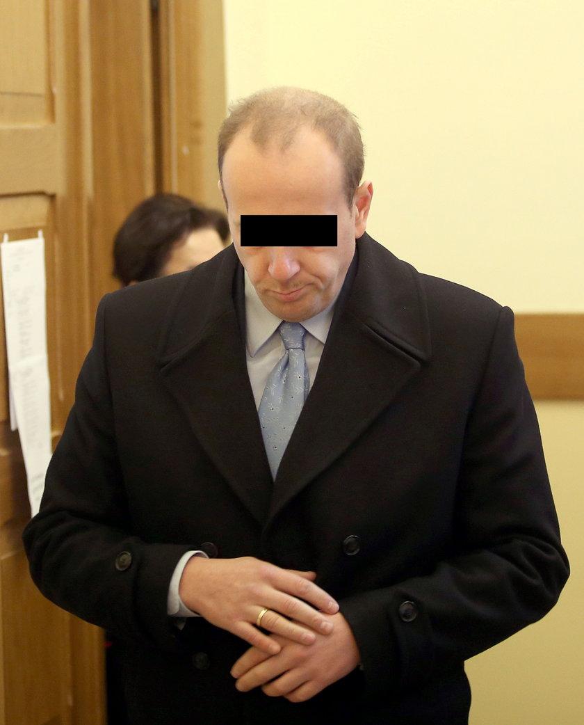 Burmistrz Chrzanowa po rozprawie w sądzie w Myślenicach