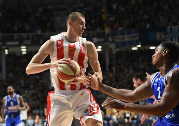 Boriša Simanić je vodio veliku borbu sa igračima Budućnosti