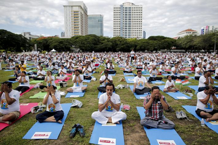 THAILAND INTERNATIONAL YOGA DAY