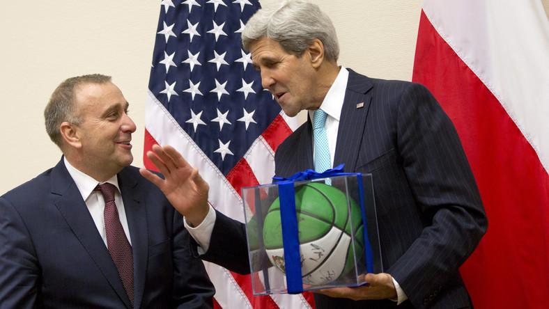 Grzegorz Schetyna i John Kerry