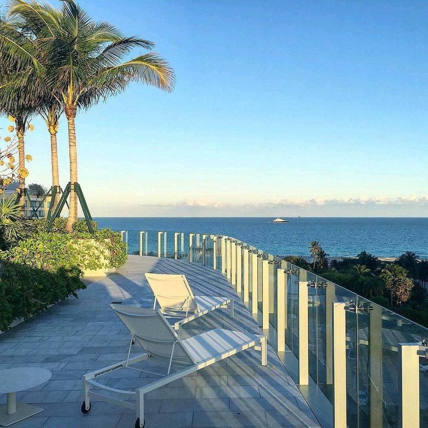 Apartament Krzysztofa Gojdzia w Miami