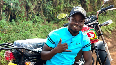 Comedian Mulamwah replaces his stolen Motorbike with brand new one (Photos)