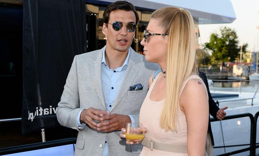 Martyna Gliwińska i Jarosław Bieniuk