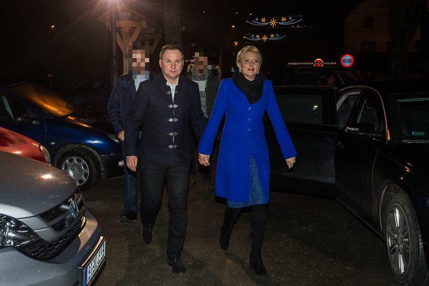 Para prezydencka kolędowała w Istebnej