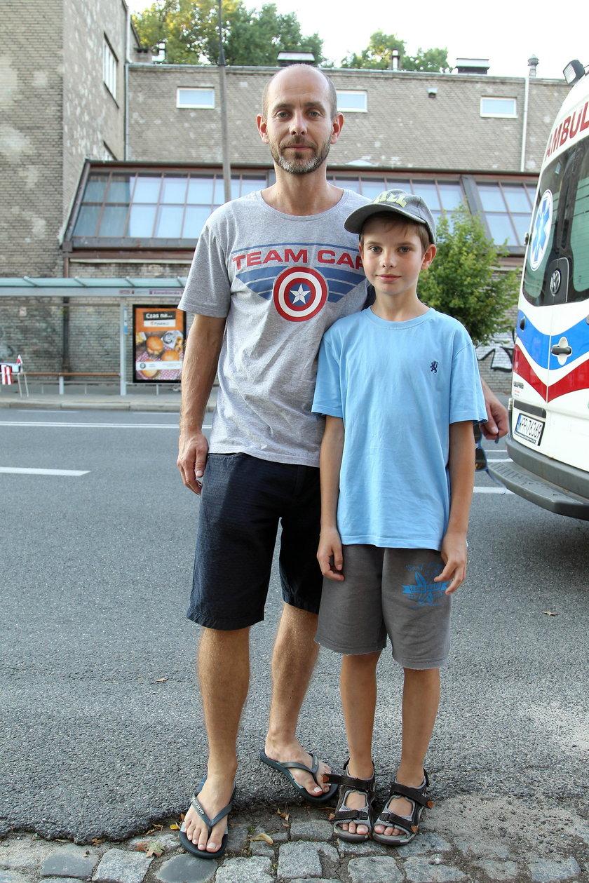 Marek Słomski (37 l.) tata 11-letniego Oskara.