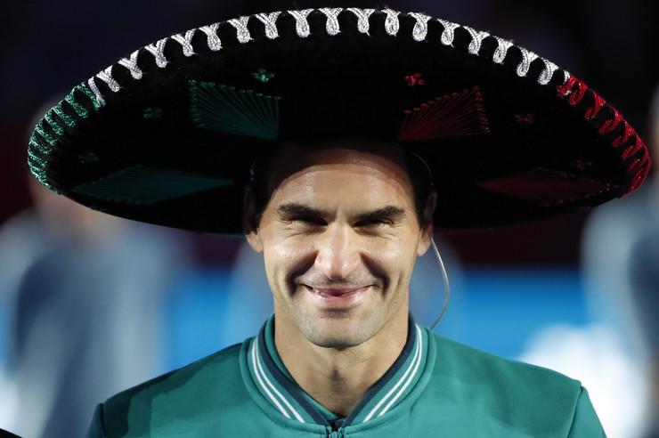 Rodžer Federer i Aleksandar Zverev u Meksiko Sitiju