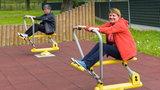 Park linowy i siłownia za darmo