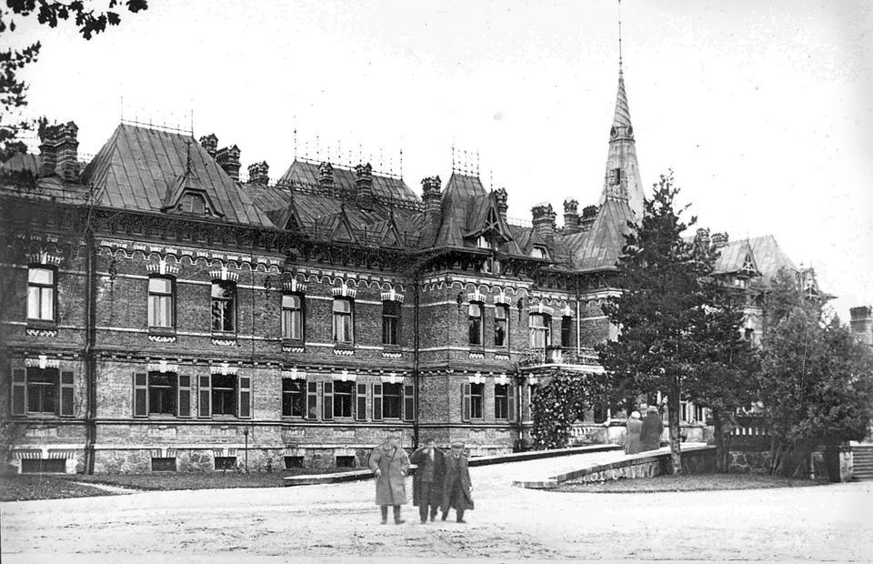 Pałac carski w Białowieży, 1940 rok