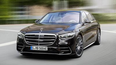 Nowy Mercedes Klasy S w teście łosia - mało brakowało