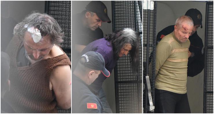 albanska porodica uhapšena u Crnoj Gori
