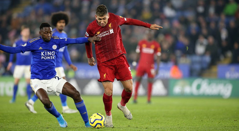 Wilfred Ndidi was at his best which wasn't enough as Leicester City fell to Liverpool