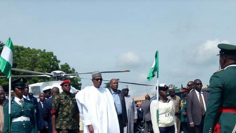 President Muhammadu Buhari in Ogun state to commission some projects (Punch)