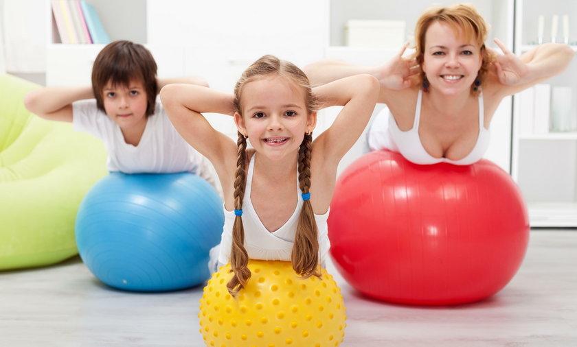 Rodzice ćwiczący fizycznie mają bardziej inteligentne dzieci