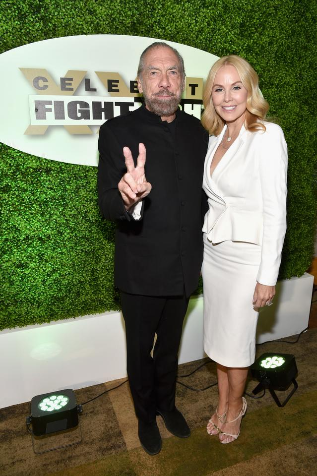 John Paul DeJoria i Eloise Broady