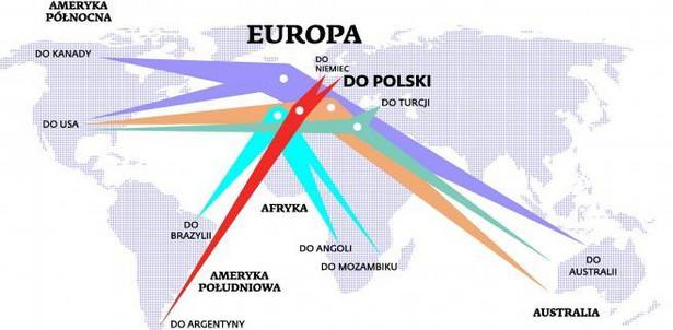 Dokąd Europejczycy uciekają przed kryzysem