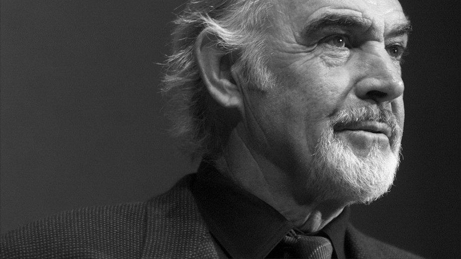 Sean Connery w 2001 r.