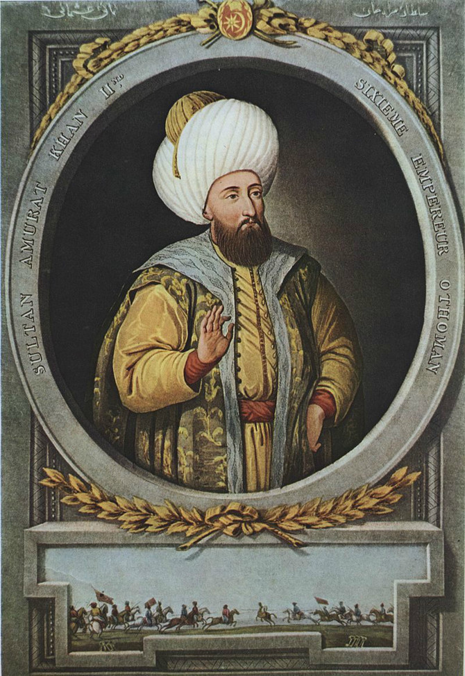 Sultan Murat II (1404-1451)
