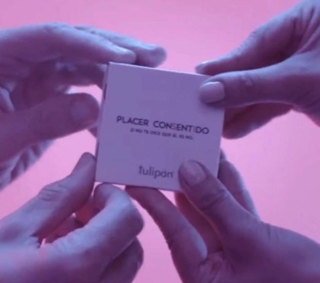 You can't use this new 'consent condom' unless two people open it together (video)