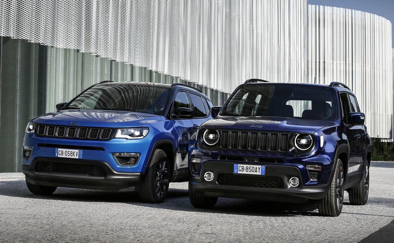 Jeep Compass 4xe i Renegade 4xe
