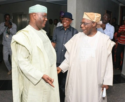 Atiku has had a frosty relationship with Obasanjo since their time together in government, but their interests are aligned for the 2019 presidential election