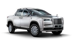Terenowy, wysoki pojazd z Goodwood. Czy taki model będzie produkował Rolls-Royce?