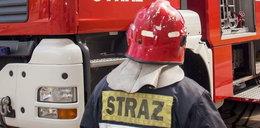 Pożar w hostelu pracowniczym w warszawskich Włochach